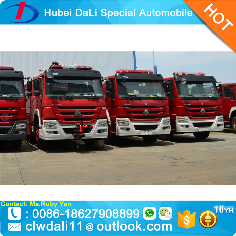 4*2 Ariel Ladder Airpoort Fire Fighting Truck for sale