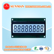 flexible lcd display withTransflective white backlight with UV lcd
