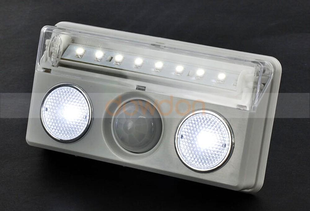 Rechargeable Led Pir Capteur Dtecteur De Mouvement Sans Fil Placard