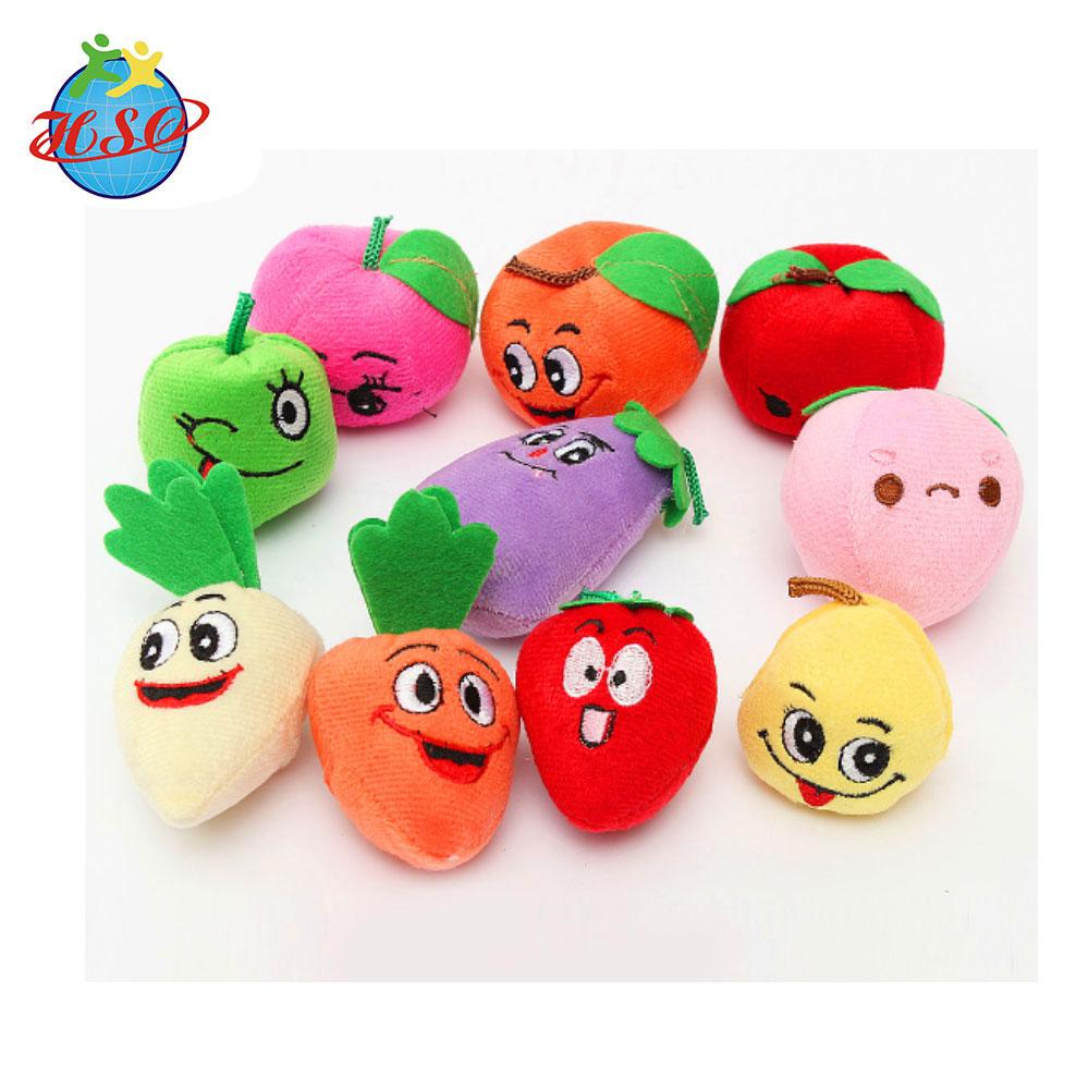 Baby Education Soft Stuffed Peach Fruit Plush Toy - Buy ...