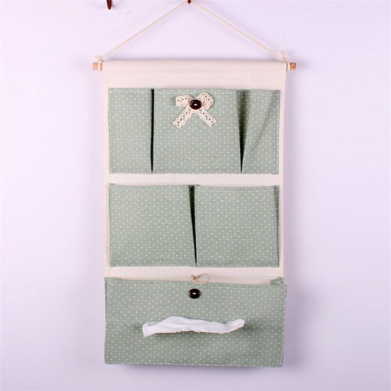 Fabric Wall Hanging Storage Pocket/hanging Wall Pocket Storage/hanging  Fabric Wall Storage Bag