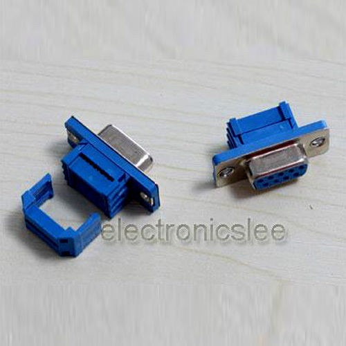 9 Pin D-SUB DB9 Female IDC Flat cable Connector