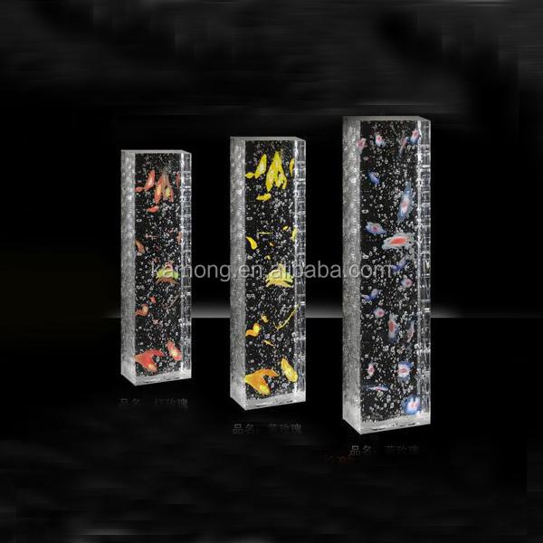 Moderne cristal pilier cristal ktv d coration optique for Pilier moderne