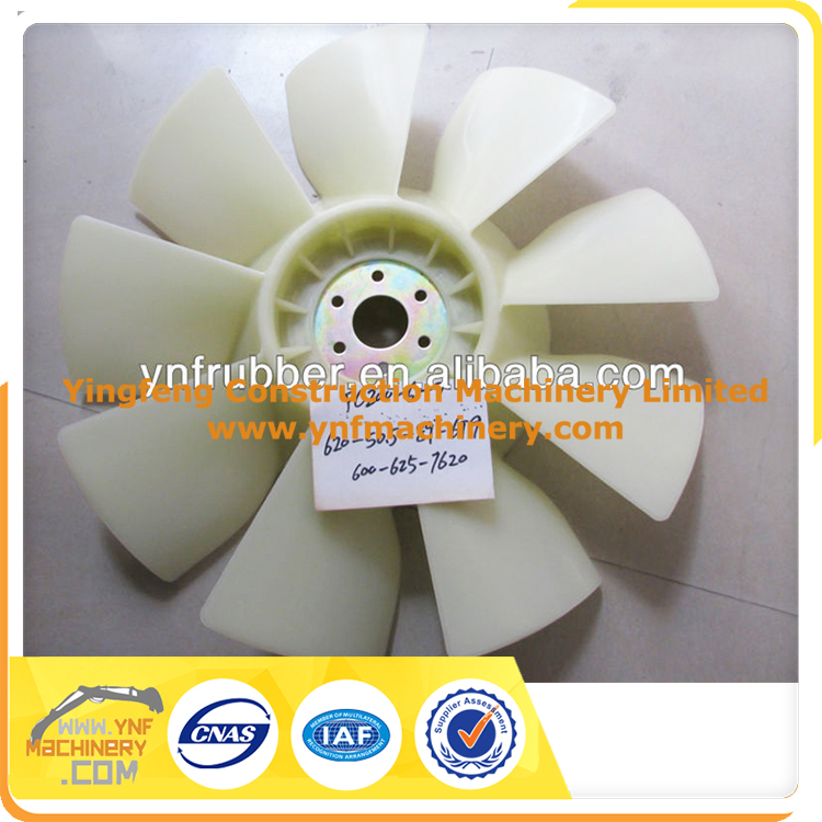 auto engine cooling fan blade for japanese excavator parts