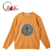 2017 Winter New Fashion Double Side Shape Sequin Patch Pullover Long Sleeve Men' Sweatshirt