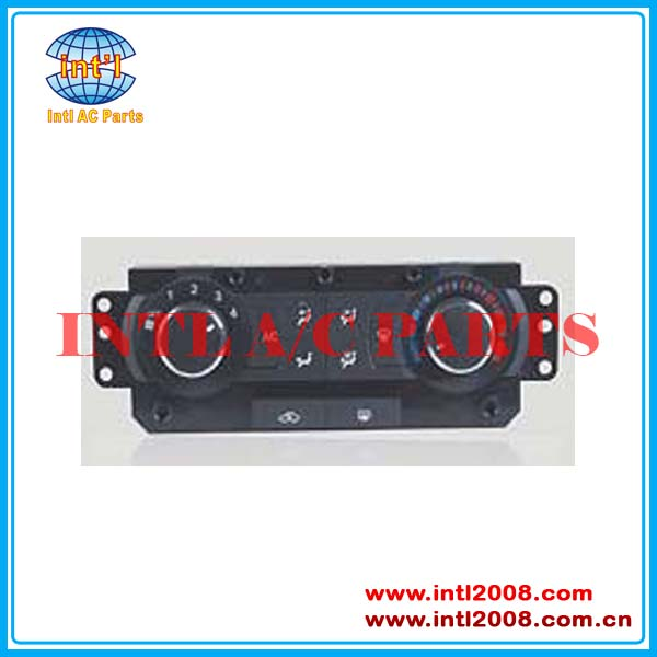 Auto Air Conditioning Heater Panel Control switch