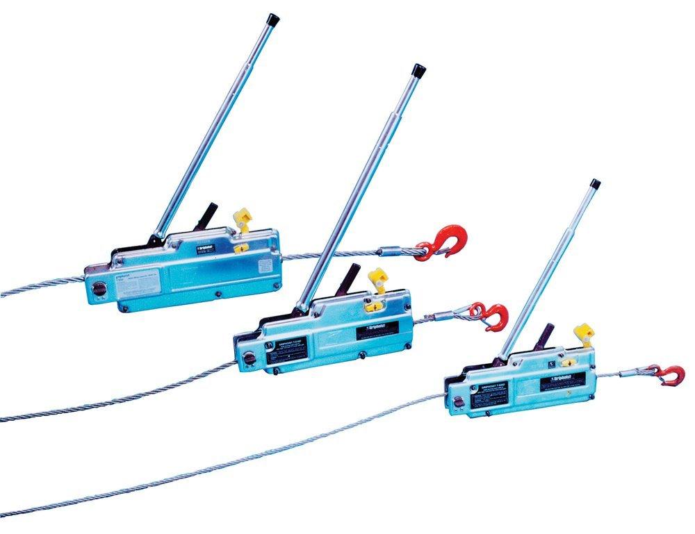 Tractel electric hoist precision tape measure