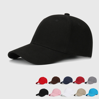 custom 6 panel the adjustable copper buttons black Sun hat sports caps wholesale Cap make to order baseball hats custom logo