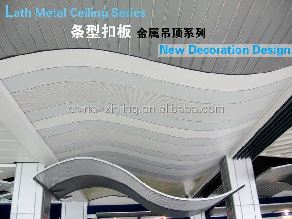 Curved Design Aluminum Strip Ceiling Buy Metal Strip