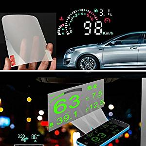 Transparent Car Windshield Head Up HUD Reflective Protection Film Sticker Common