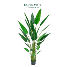 Eco-friendly PEVA 1.8 m 6ft Decorazione Centro Commerciale di Plastica Faux Strelitzia Reginae Pianta