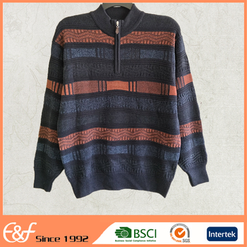 Mens Heavy Winter Half Turtleneck Knitting Patterns Sweater - Buy ...