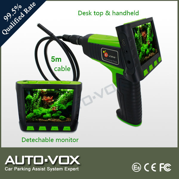3.5'' monitor pipe wall videoscope inspection camera system