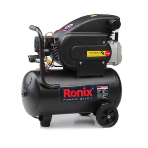 Ronix High Quality 2hp 8Bar 25L Mobile Reciprocating Induction Air Compressor RC-2510