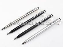 Rotating metal capacitance touch screen mobile phone stylus ads ball-point pen pn6892