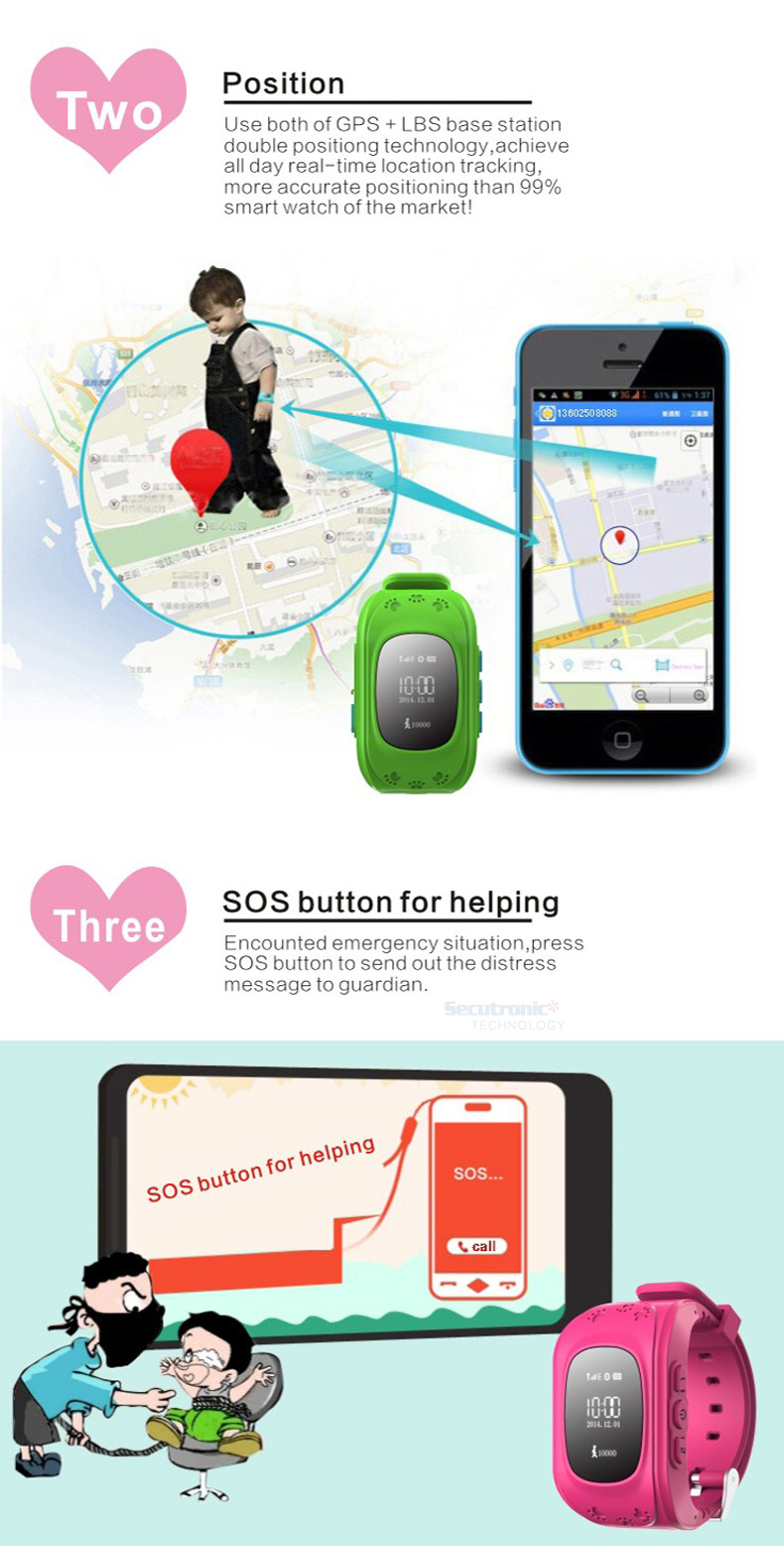 Child Tracker,GPS Fall Alarm Historical Track Tracking Device Long Standby Pendant SOS Distress Remote Monitoring,Mini for Kids Child Pets