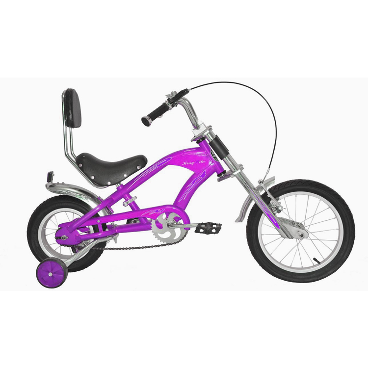 Kb-chopper Bike-co9 Yellow Adult Chopper Aluminium City Bike With ...
