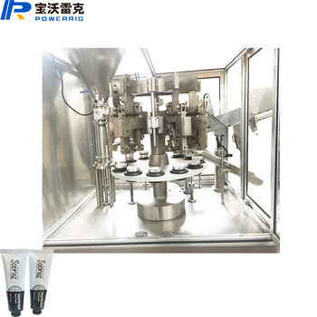 High speed instant glue tube filling sealing and packing machine
