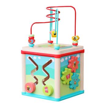 Best Design 5 In 1 Multi Function Children Wooden Activity Cube For Baby W11b133 Buy Activity Cubewooden Activity Cubewooden Baby Activity Cube