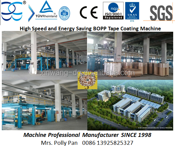 Hot Sale 1300mm High Speed Energy Saving BOPP Adhesive Tape Mayer Bar Coating Machine