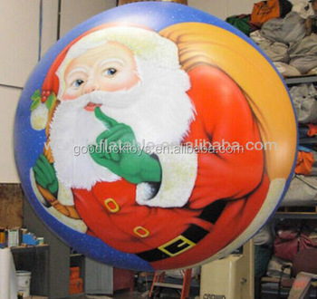 hanging inflatable christmas decoration santa claus balloon