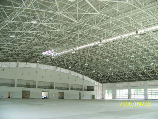 Indoor Basketball Court With Space Frame Roof System