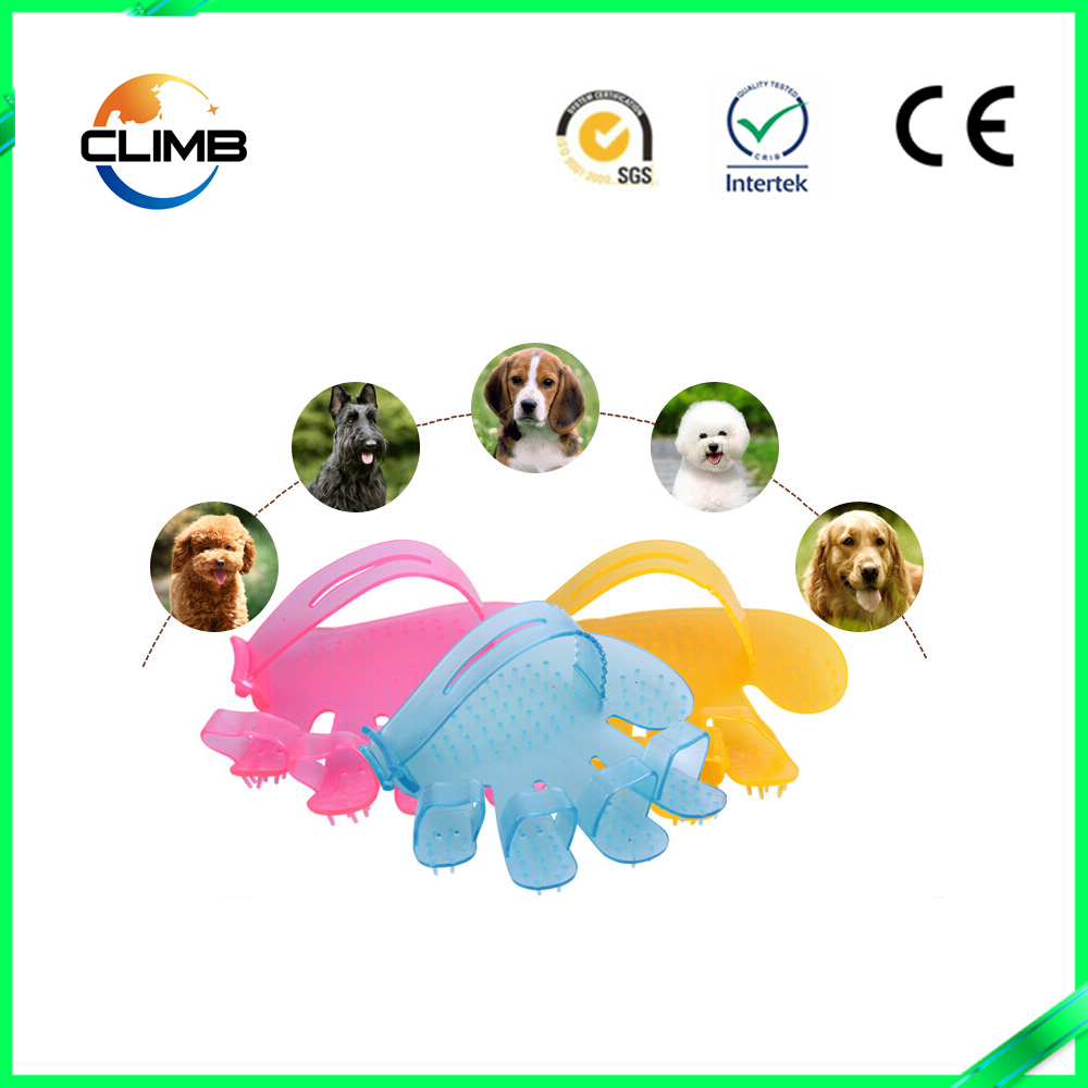 Pet Buddies Dog and Cat Grooming Glove dog gloves for shower