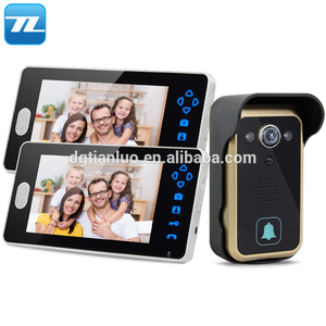 7 inch hands-free color screen commax intercom building video door phone