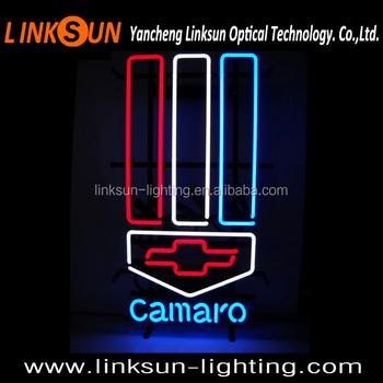 Chevrolet Camaro Logo Garage Neon Sign Buy China Neon Sign