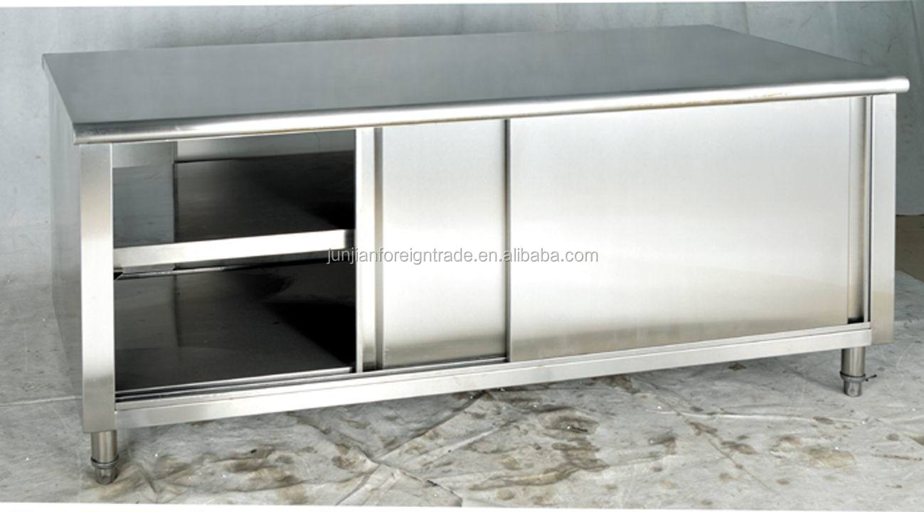 Commercial Stainless Steel Kitchen Cabinet Oem Guangzhou Factory High Quality