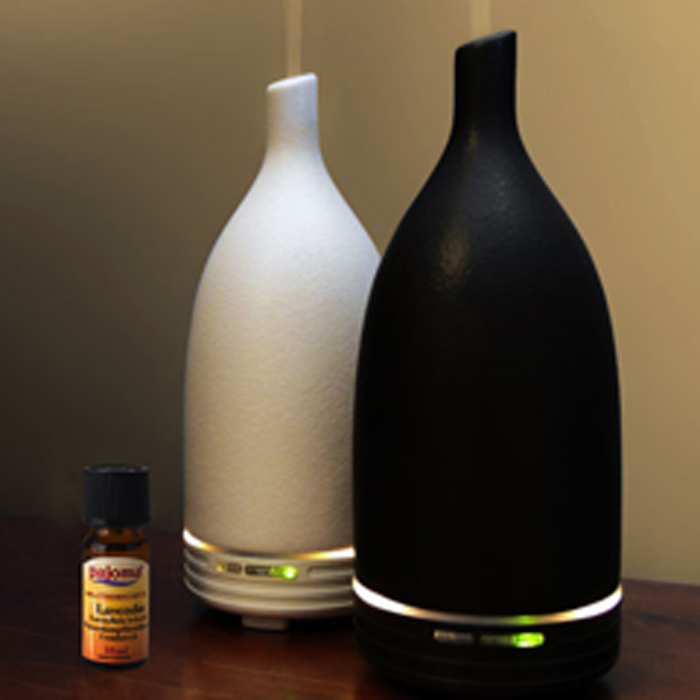 Guangdong manufacture 100ml portable ceramic fragrance oil diffuser, electrical aromatherapy diffuser
