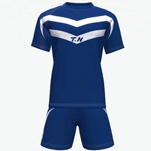 Newest sublimation design soccer jersey customized top quality football uniform sports T shirts