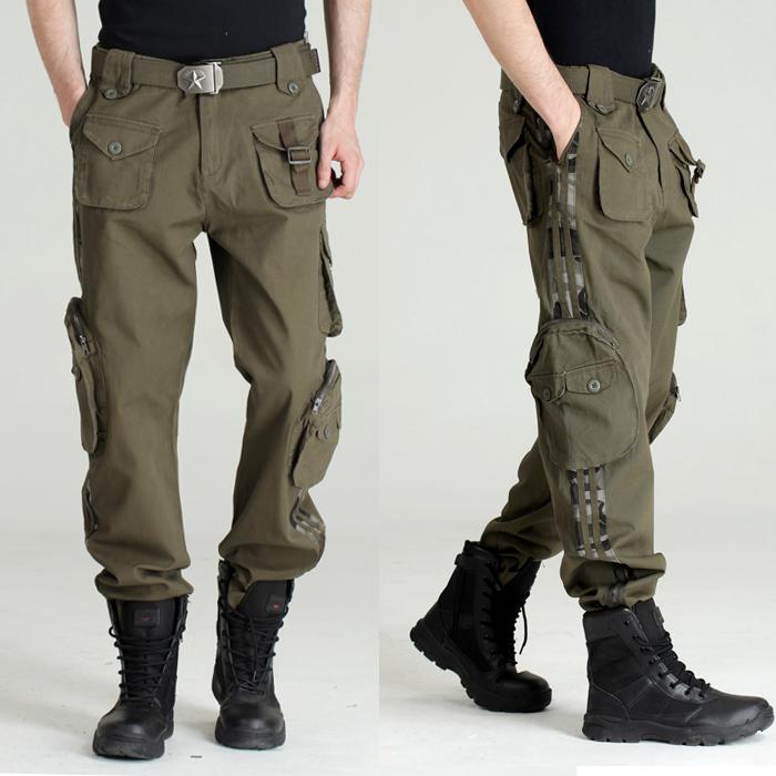 black tactical cargo pants - photo #28