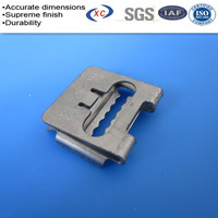 Custom sheet metal manufacturing galvanized electrical wire clip