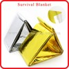 gold /silver disposable medical waterproof insulation blanket