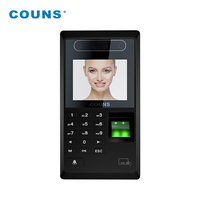 web based multimedia biometric face scan facial fingerprint recognition time attendance door access control system with software