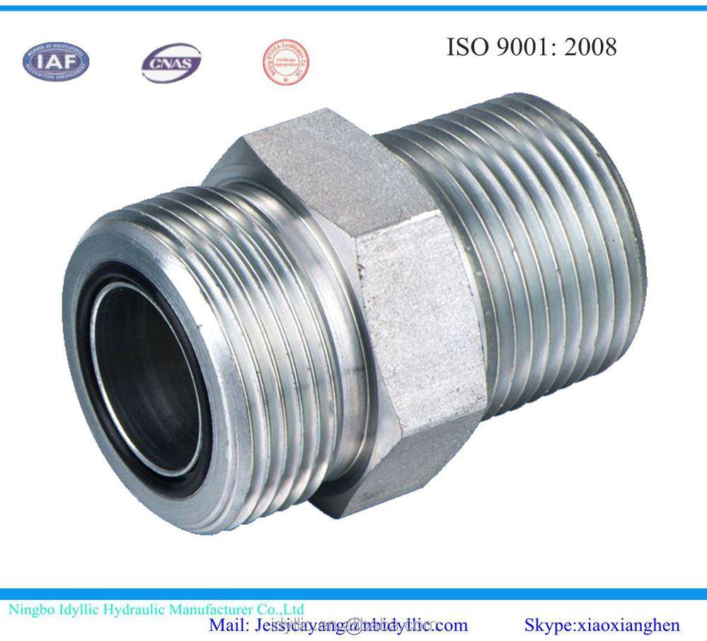 Hydraulique raccords jic bsp npt bspt sae