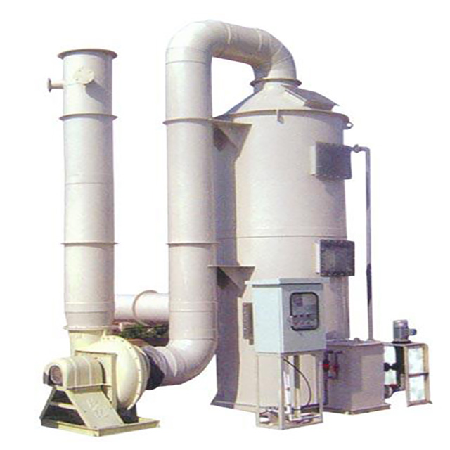FRP Industry dust and desulphurization scrubber/Acid Gas Absorption Tower for industry gas purify