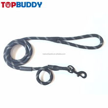 top quality walk at night mountain climbing reflective nylon dog rope leash