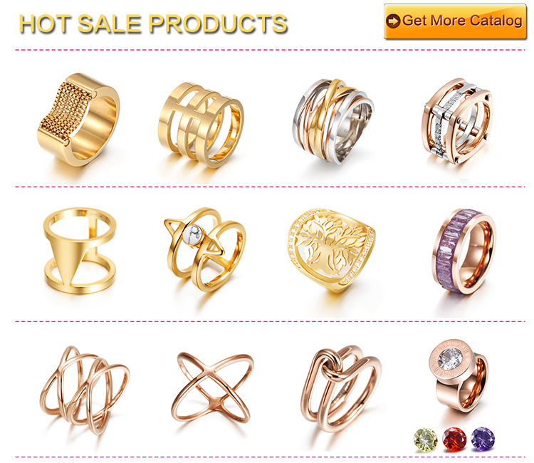 new 2014 latest design channel jewelry gold ring ceramic for men ...