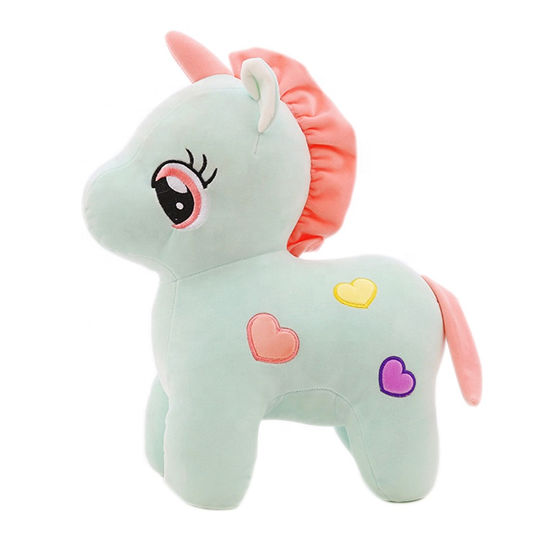 Custom Embroidery <strong>Plush</strong> Stuffed Super Soft Cute Animal <strong>Plush</strong> Unicorn Stuffed Toy