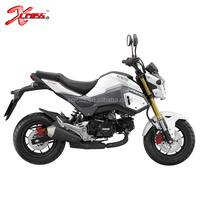 MSX 125 Monkey Bike 125CC Pocket Bike Mini Moto with Tubeless Tires and Digital Meter For Sale MSX125N