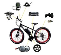 Bafang China cheap e bike 350w 20 inch electric bicycle conversion motor kit