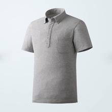 High Quality Mens Summer Cotton Polo T Shirt With Pocket
