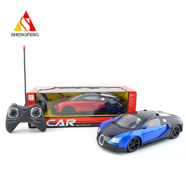 Rc remote control toy car speed car with light