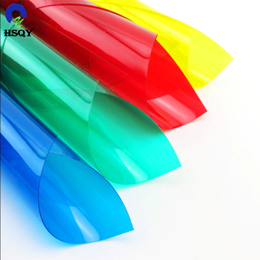 Super clear factory price <strong>PVC</strong> plastic sheet with different size and colours