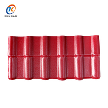 fire retardation 3 layers artificial Spanish style ASA synthetic resin tile roofing