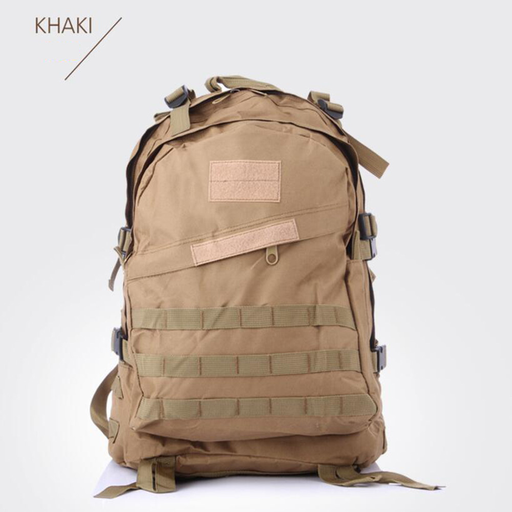 campamento al aire libre bolsa de camuflaje oxford resistente al desgaste mochila impermeable bolso del alpinismo