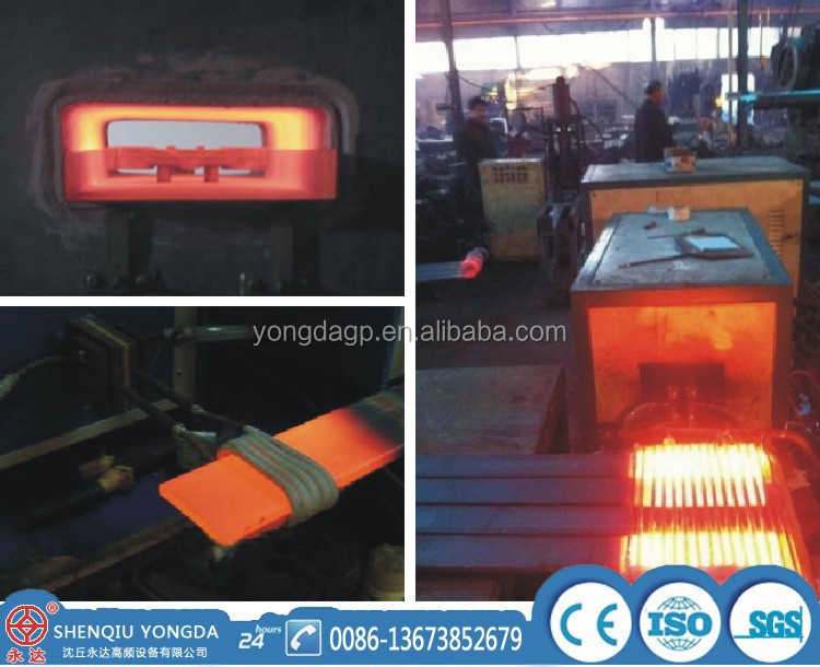 Steel Iron Brass Copper Rod Partial Forging Induction