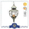 modern metal cage hanging lamp for dining-room or coffee shop